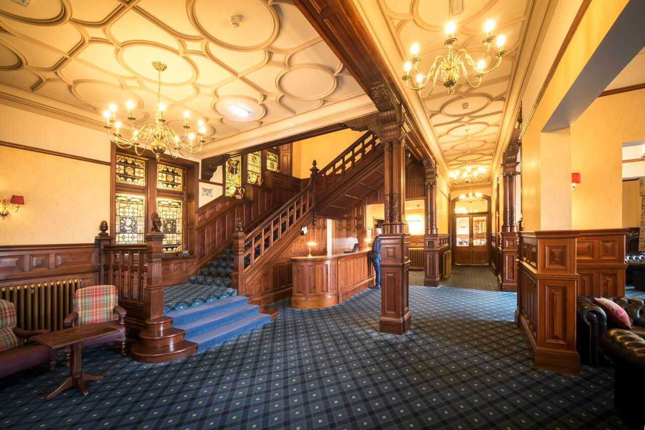 Highland Hotel Foyer